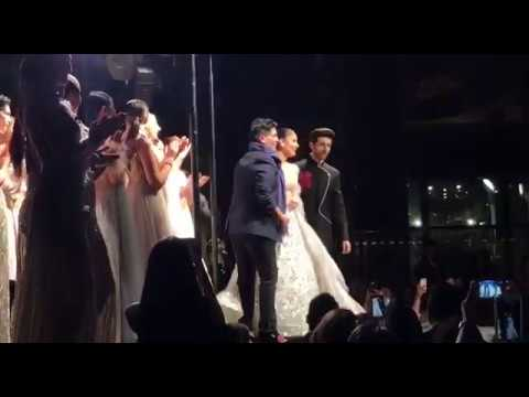 Designer Manish Malhotra joining Kareena Kapoor and Kartik Aaryan on stage
