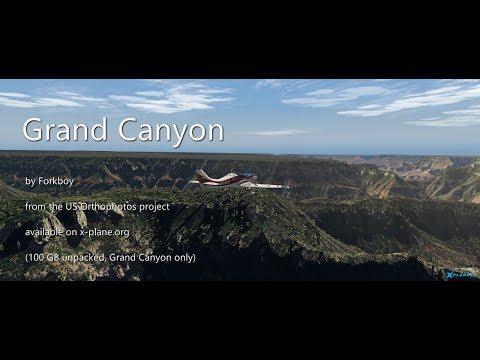 Xplane Dedicated Scenery Review: US OrthoPhoto's - Vlog 216