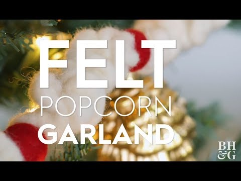 Popcorn Garland | Made By Me - Crafts| Better Homes & Gardens