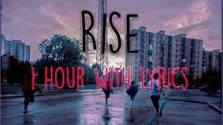 Rise  Jonas Blue Ft. Jack & Jack 1 Hora | 1 Hour Loop (With Lyrics)