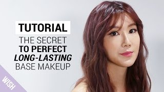 The Perfect Long Lasting Base Makeup Tutorial : Silky, Smooth Outside, Hydrating Inside