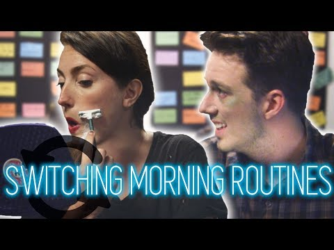 Men And Women Switch Morning Routines