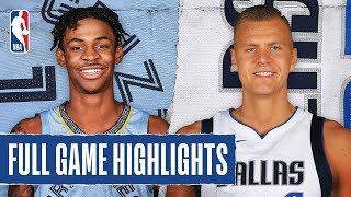 GRIZZLIES At MAVERICKS | FULL GAME HIGHLIGHTS | March 6, 2020