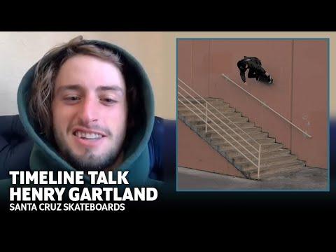 Back In These Skreets In No Time! Henry Gartland: Timeline Talk   Santa Cruz Skateboards