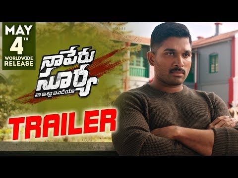 Naa Peru Surya Naa Illu India Theatrical Trailer