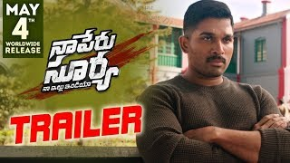 Naa Peru Surya Naa Illu India - Official Trailer