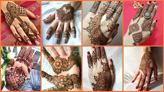 Very Simple & Stylish Arabic Henna Mehndi Designs Ideas Photos Collection 2020