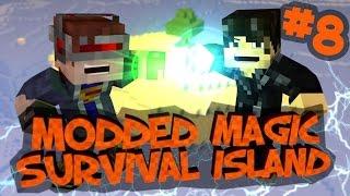 Survival Island Modded Magic - Minecraft: Carrot Cake! Part 8