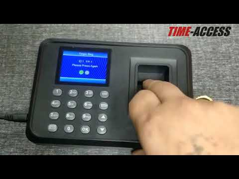 Fingerprint Time Attendance System - Attendance Machine