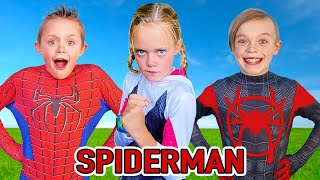 Spiderman The Movie! Kids Fun TV Spider-Man Compilation Video!