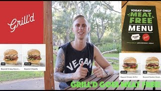 Grill'd Goes Meat Free