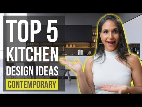 Top 5 Contemporary Kitchen Interior Design Ideas | Tips and Trends for Home Decor