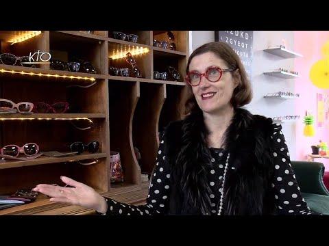 Audrey Cattoz, la vision chrétienne d'une opticienne