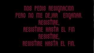Resistire- Baron Rojo-Letra..wmv