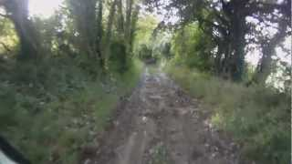 preview picture of video 'West Grimstead - Grimstead Road to Pepperbox Hill (Byway, E-W)'