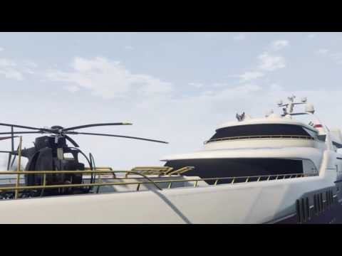 GTA 5 MOST EXPENSIVE YACHT TOUR