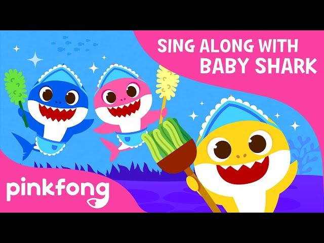 Clean the Sea | Sing Along with Baby Shark | Pinkfong Songs for Children