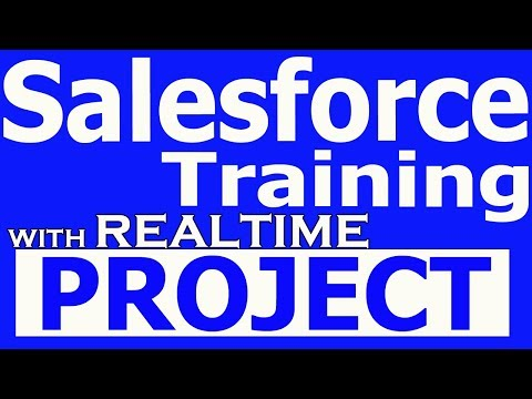Salesforce CRM Training Videos for beginners Tutorials with Real ...