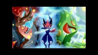 Ash Greninja Evolotion (THEME SONG) Pokémon XY/XYZ