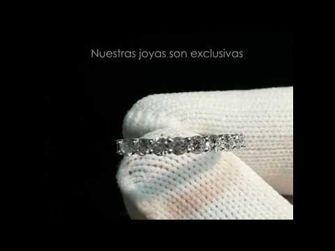 Alianza CyC colección Everyday air con 0.49 diamantes en oro blanco de 18k