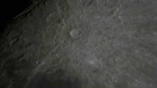 Unknown objects crossing the moon