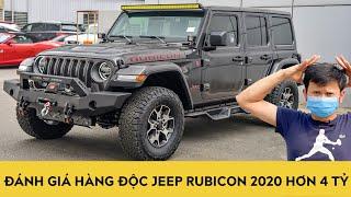 Đánh Giá Jeep Wrangler Rubicon Unlimited 2020 - Hàng Kịch độc Giá Hơn 4 Tỷ | Autodaily