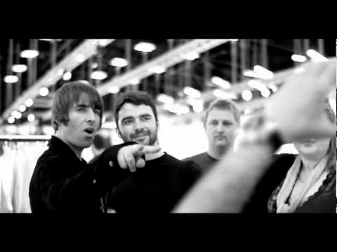 Liam Gallagher Visits Copenhagen Fashion Show