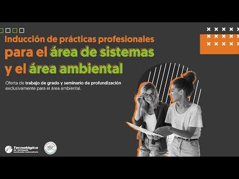 """""""Inducción de Prácticas Profesionales – Área de Sistemas y área Ambiental"""