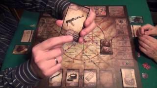 Метро 2033 - играем в настольную игру, board game