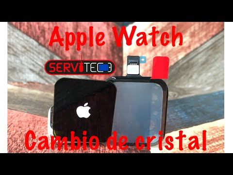 CAMBIO DE CRISTAL APPLE WATCH SERIE 3