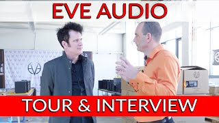 Warren Huart Tours EVE Audio in Berlin