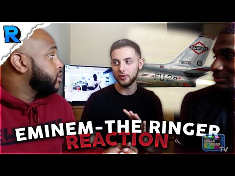 THE RINGER x EMINEM | NO MORE MUMBLE RAP | REACTION
