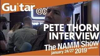 Guitar Interactive talks to Pete Thorn about his new UAD plugin at NAMM