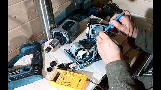 Reparatur eines Makita Bohrhammers DHR 202 mit Hindernissen