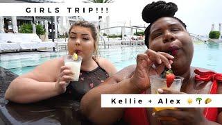 GIRLS TRIP!   PLUS SIZE FASHION + FOOD + FUN