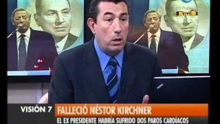 Visión Siete Falleció Néstor Kirchner 2