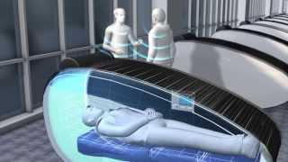 Первые в мире капсулы для сна в международном аэропорту Абу-Даби.