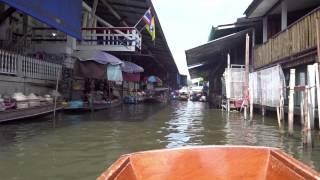 preview picture of video 'mercato galleggiante Damnoen Saduak'