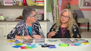 Susan Brubaker Knapp interviews Luana Rubin on Indigenous Quilts at the 2018 Quilt Canada Festival on Quilting Arts TV #2307.
