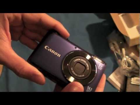 Canon Powershot A2200 Unboxing 14.1 MPX