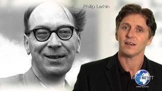 Philip Larkin - Toads - Poetry Lecture and Analysis by Dr. Andrew Barker