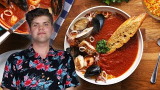 How to Make Tomato Seafood Stew (Cioppino) by Matthew Francis • Tasty