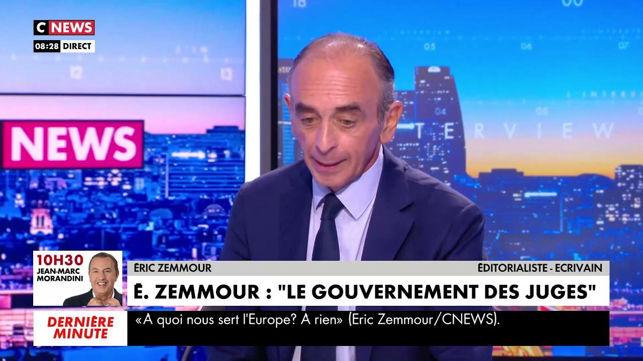 """ÉRIC ZEMMOUR : """"LES MILITANTS LGBT N'ONT RIEN À FAIRE À L'ÉCOLE"""""""