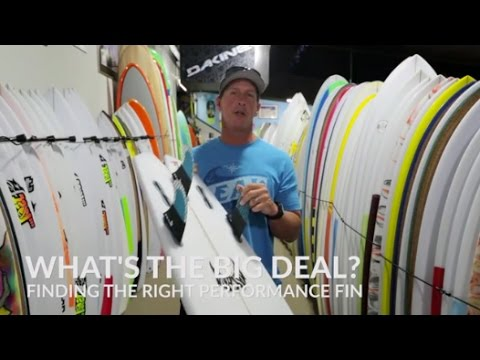 How To Choose the Right Performance Surfboard Fins