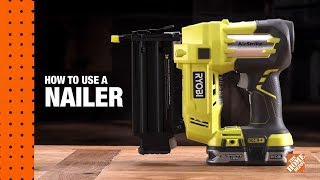 How To Use A Nail Gun: A DIY Digital Workshop | The Home Depot