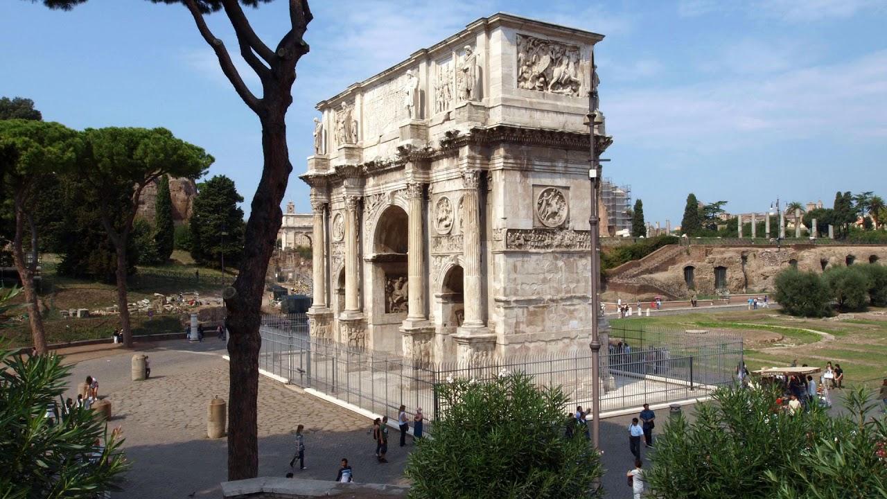 arch, constantine, italy, rome, triumphal