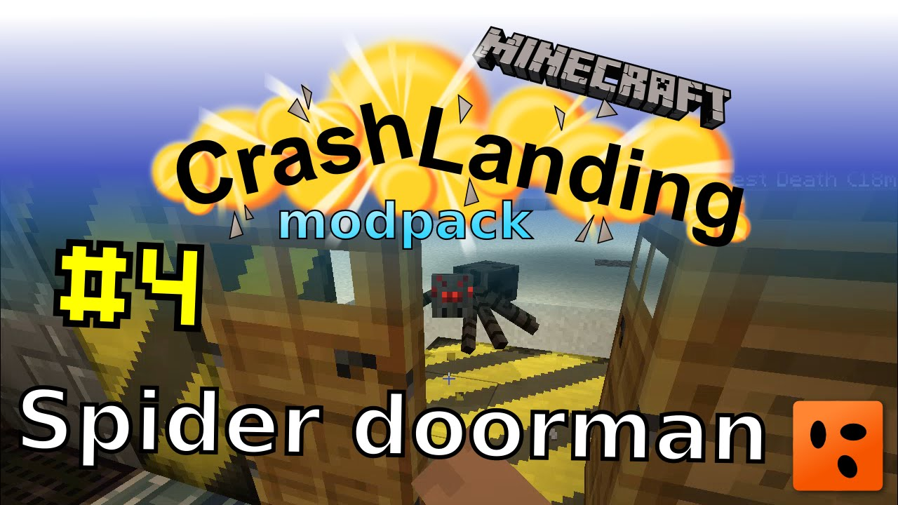 Crash Landing #4 | Spider doorman