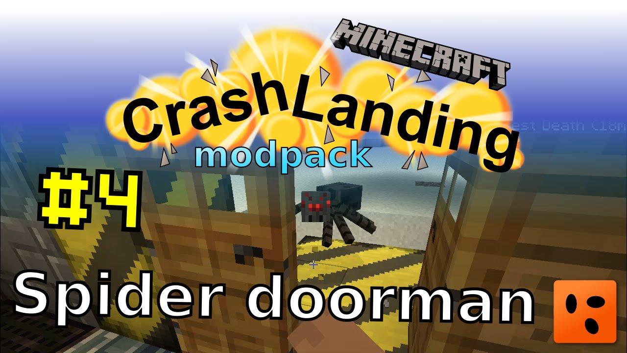 Crash Landing #4 | Spider doorman