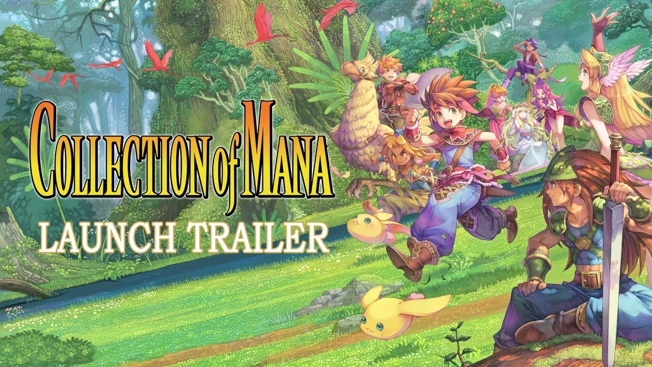 Video COLLECTION of MANA [NINTENDO SWITCH]