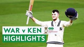 Kent Dominate To Record First Win | War v Kent | Specsavers County Championship